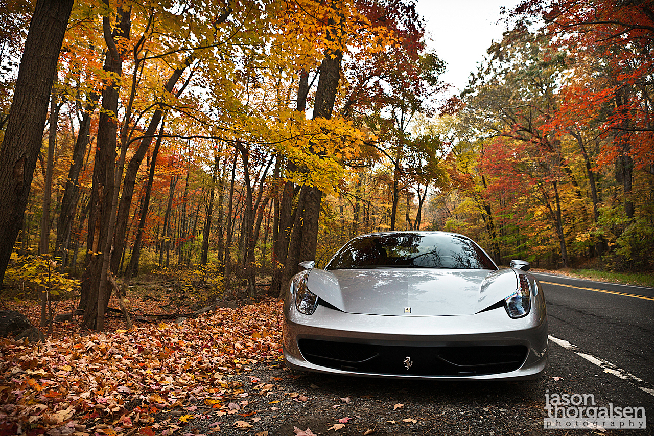 The 458 Italia is his newest